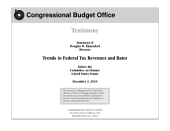 Trends in Federal Tax Revenues and Rates: Congressional Testimony