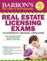 Barron s Real Estate Licensing Exams PDF