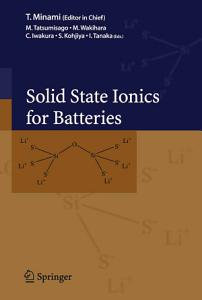 Solid State Ionics for Batteries PDF