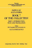 Pappus Of Alexandria Book 4 Of The Collection