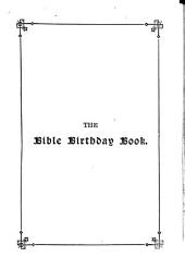 The Bible Birthday Book
