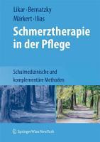 Schmerztherapie in der Pflege PDF
