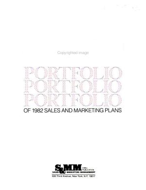 Portfolio of     Sales and Marketing Plans PDF