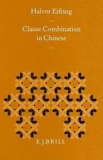 Clause Combination in Chinese