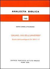 """""""Salvaci, Dio dell'universo!"""": studio dell'eucologia di Sir 36H, 1-17"""