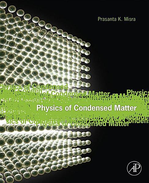 Physics of Condensed Matter Pdf Book