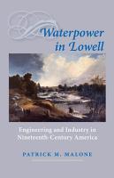 Waterpower in Lowell PDF