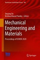 Mechanical Engineering and Materials PDF