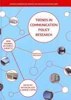 Trends in Communication Policy Research PDF