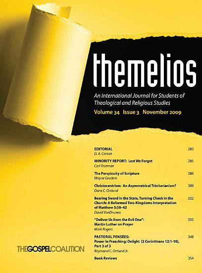 Themelios  Volume 34  Issue 3 PDF
