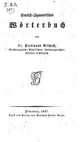 Deutsch-Zigeunerisches Wörterbuch