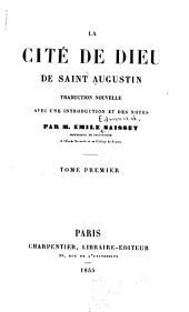 La cite de Dieu de Saint Augustin: Volumes1à2