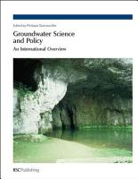 Groundwater Science and Policy PDF