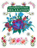 Flowers Coloring Books for Adults Relaxation PDF