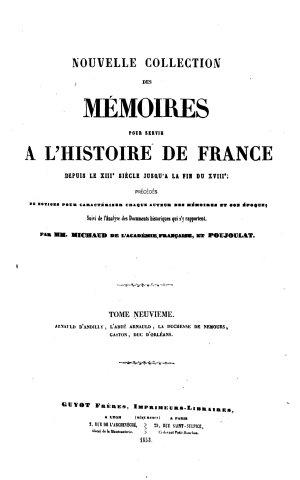 Nouvelle collection des m  moires pour servir    l histoire de France