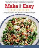 Make It Easy Cookbook Book PDF
