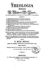 Theologia moralis: Continens tractatus de eucharistia, missae sacrificio et poenitentia. 6