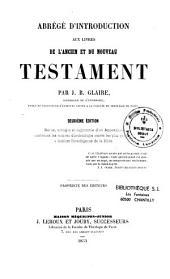 Abrégé d'introduction aux livres de l'Ancien et du Nouveau Testament