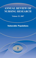 Annual Review of Nursing Research  Volume 25  2007 PDF