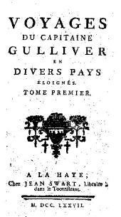Voyages du capitaine Gulliver en divers pays éloignés ...