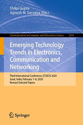 Emerging Technology Trends in Electronics  Communication and Networking PDF