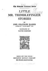 Little Mr. Thimblefinger Stories