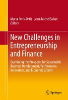New Challenges in Entrepreneurship and Finance PDF