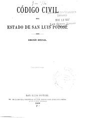 Código civil del Estado de San Luis Potosí