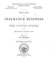 Census Reports Eleventh Census: 1890: Volume 11, Issue 2