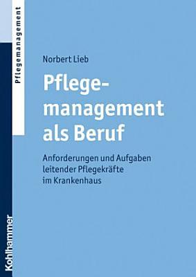 Pflegemanagement als Beruf PDF
