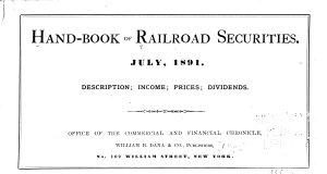 Hand book of Securities PDF