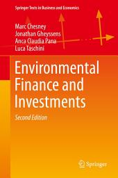 Environmental Finance and Investments: Edition 2