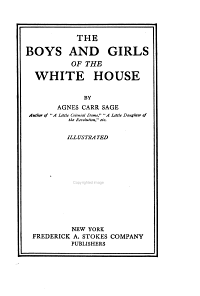 Boys and Girls of the White House PDF