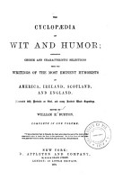 The Cyclopadia of Wit and Humor PDF