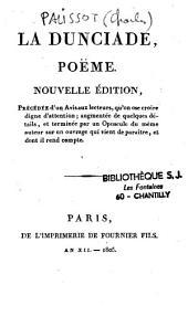 La dunciade: poème
