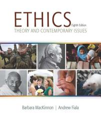 Ethics Theory And Contemporary Issues Book PDF