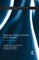 Teaching in Primary Schools in China and India PDF