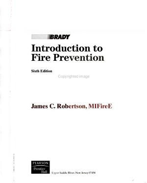 Introduction to Fire Prevention PDF
