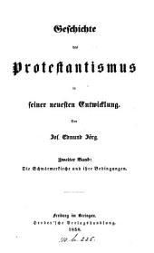 Geschichte des Protestantismus in seiner neuesten Entwicklung: Band 2