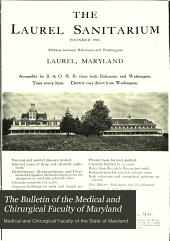 The Bulletin of the Medical and Chirurgical Faculty of Maryland: Volume 6, Issue 4