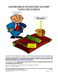 Government Instituted Slavery Using Franchises Form 05 030 Book PDF