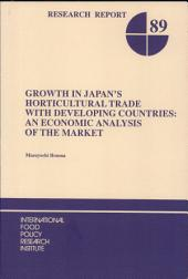 Growth in Japan's Horticultural Trade with Developing Countries: An Economic Analysis of the Market