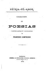 Colección de poesias castellanas y catalanas de Francisco Camprodon