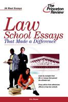 Law School Essays that Made a Difference PDF