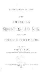 American short horn herd book  containing pedigrees of short horn cattle PDF