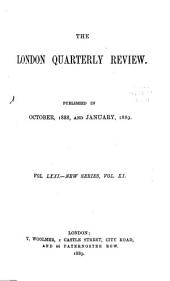 The London Quarterly Review: Volume 71
