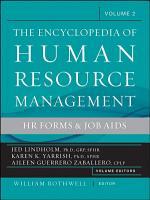 The Encyclopedia of Human Resource Management  Volume 2 PDF