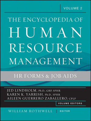 The Encyclopedia of Human Resource Management  Volume 2
