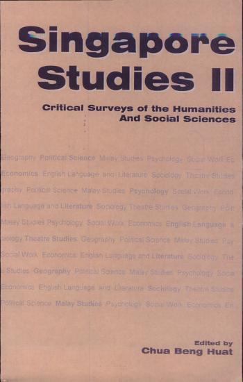 Singapore Studies PDF