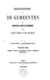 Geschiedenis van de gemeenten der provincie Oost-Vlaanderen. 2e reeks: Arrondissement Eekloo: Kaprijke, Kluizen, St.-Laureins, Lembeke, Maldegem, Ste-Margriete